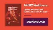 Emailbanner HHSRS Carbon Monoxide