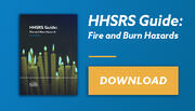 HHSRS Fire and Burns Email banner