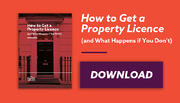 How to get a property licence email banner