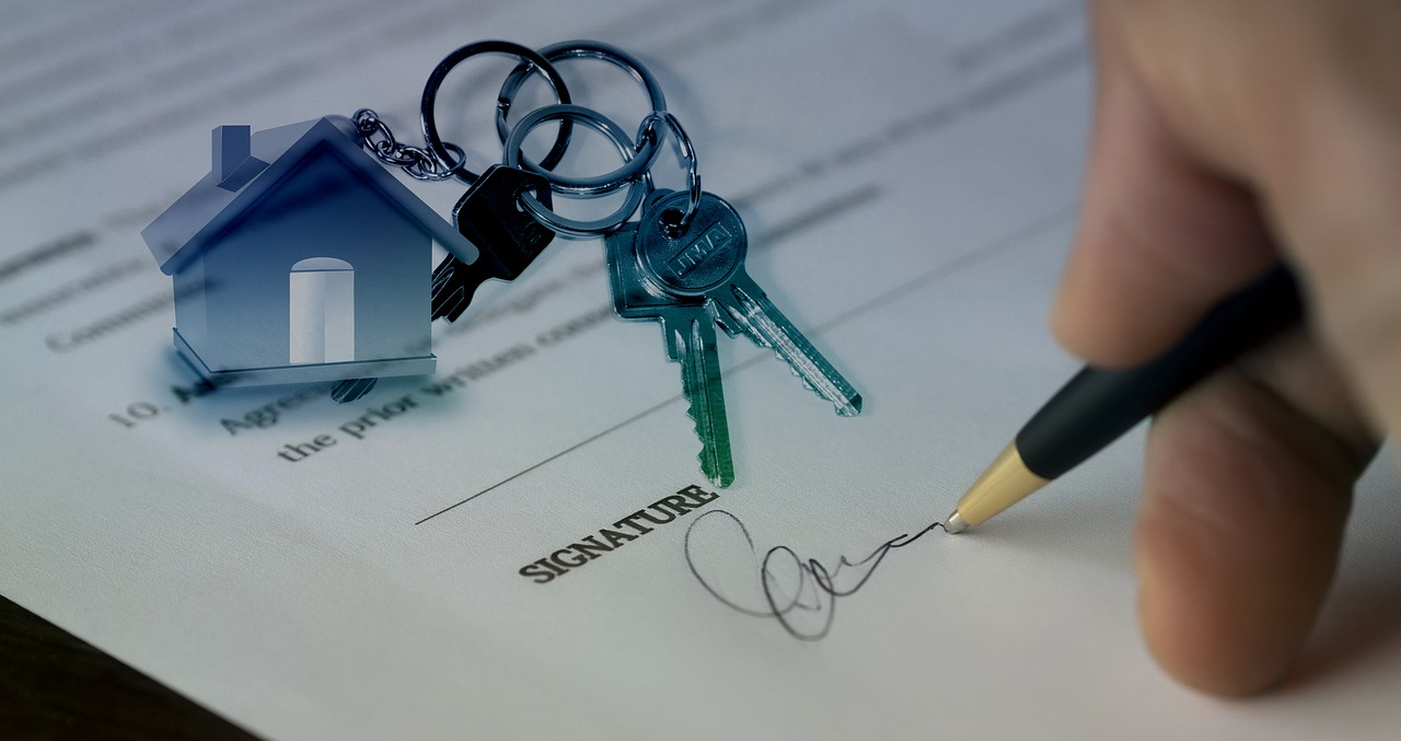 tenancy agreement sign on the line